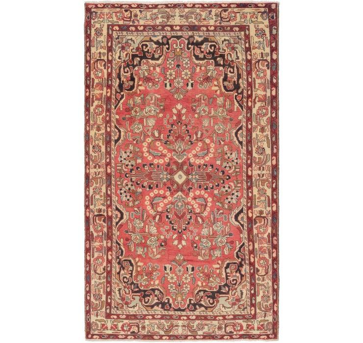 5' x 9' 2 Borchelu Persian Rug
