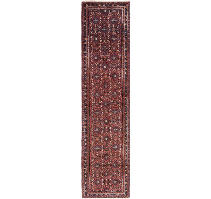 90cm x 405cm Shahsavand Persian Runn...
