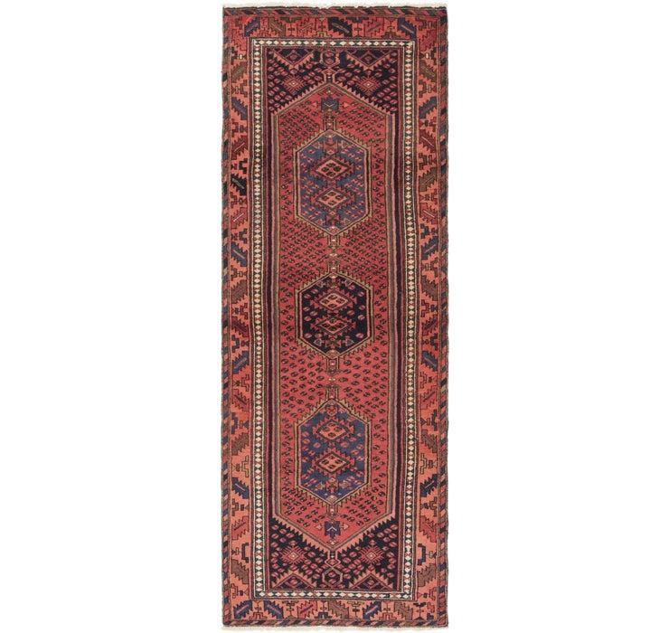 102cm x 287cm Zanjan Persian Runner Rug