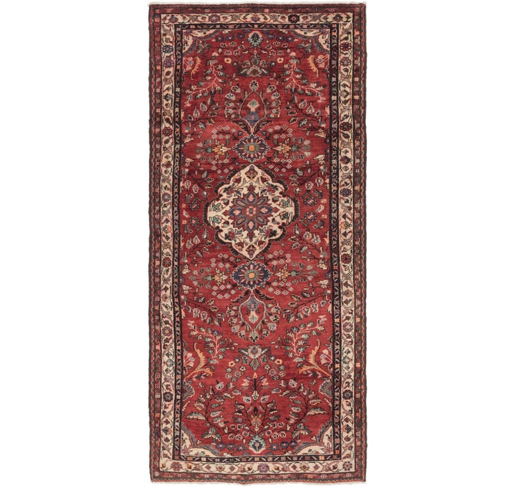 Image of 127cm x 295cm Nanaj Persian Runner Rug