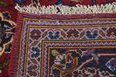 6' 9 x 10' Kashan Persian Rug thumbnail