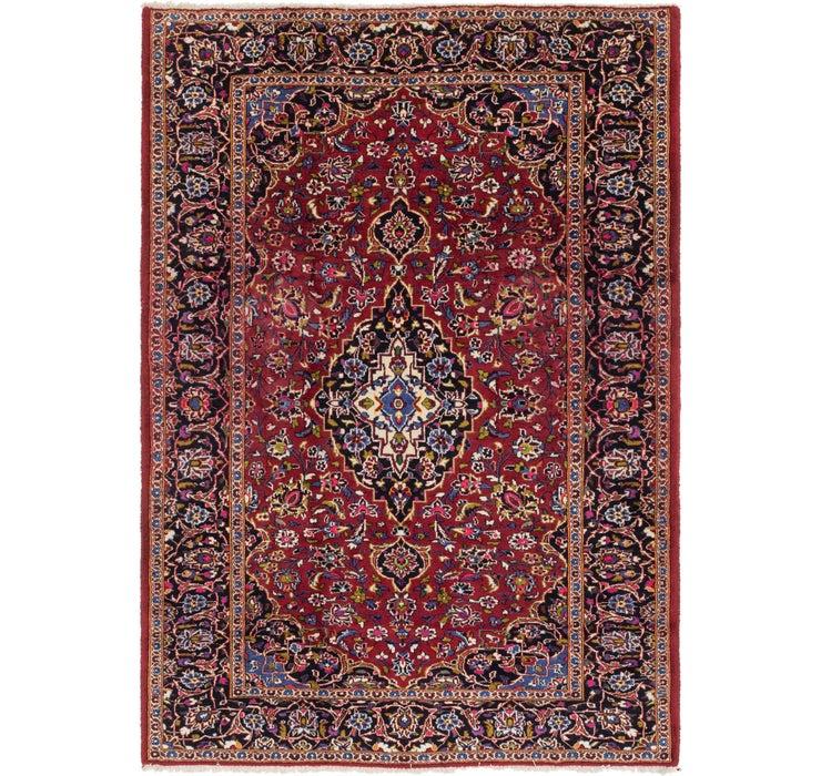 195cm x 280cm Kashan Persian Rug