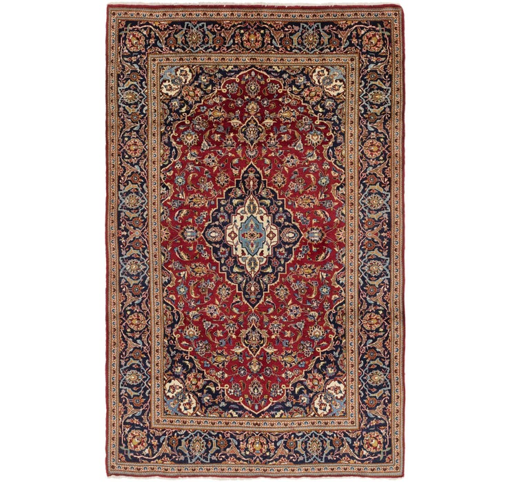213cm x 328cm Kashan Persian Rug