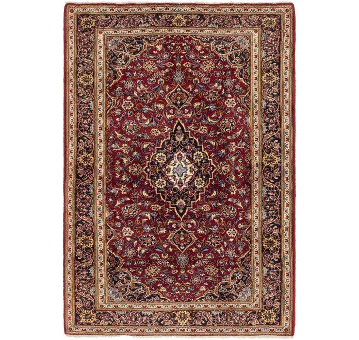 6' 6 x 9' 3 Kashan Persian Rug
