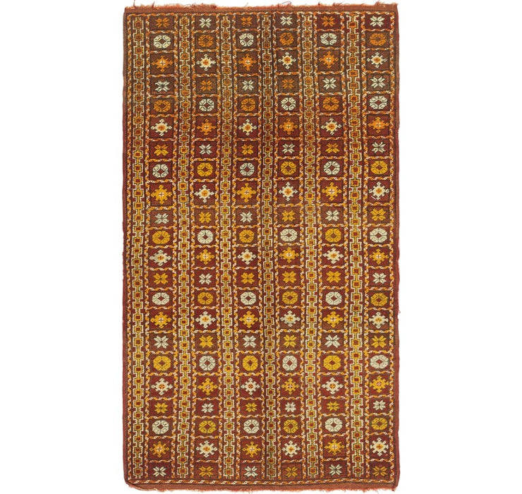 4' 5 x 8' 2 Moroccan Rug