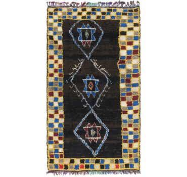 Image of 5' 3 x 10' Moroccan Runner Rug