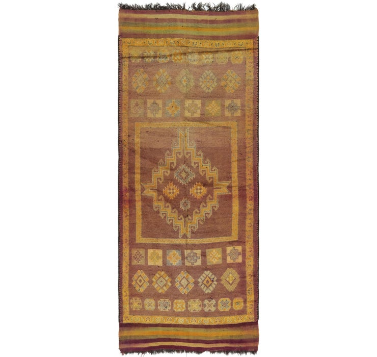 6' 4 x 16' Moroccan Runner Rug
