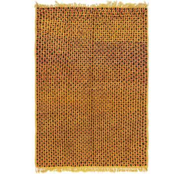 Image of  4' 2 x 5' 10 Moroccan Rug