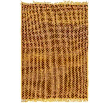 4' 2 x 5' 10 Moroccan Rug main image