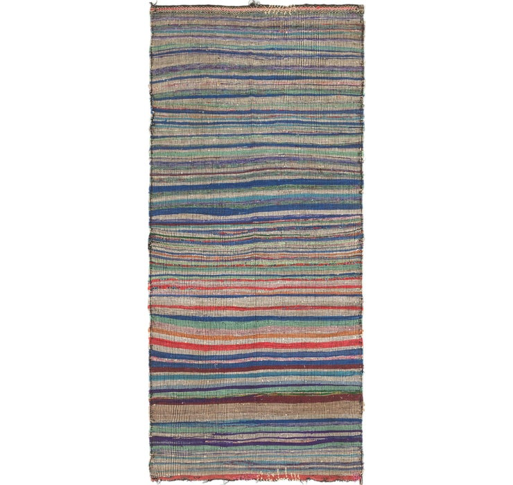 4' x 8' 9 Moroccan Runner Rug