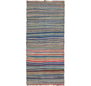 Image of 4' x 8' 9 Moroccan Runner Rug