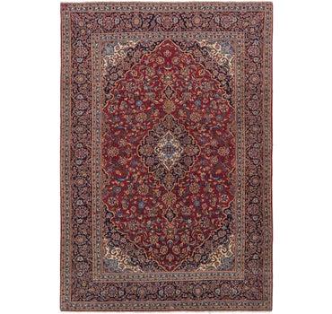 9' x 13' 3 Kashan Persian Rug main image