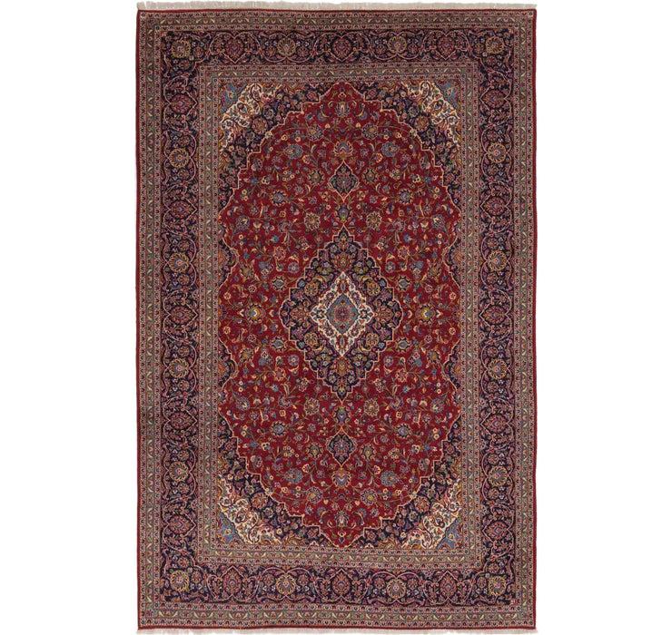 285cm x 445cm Kashan Persian Rug