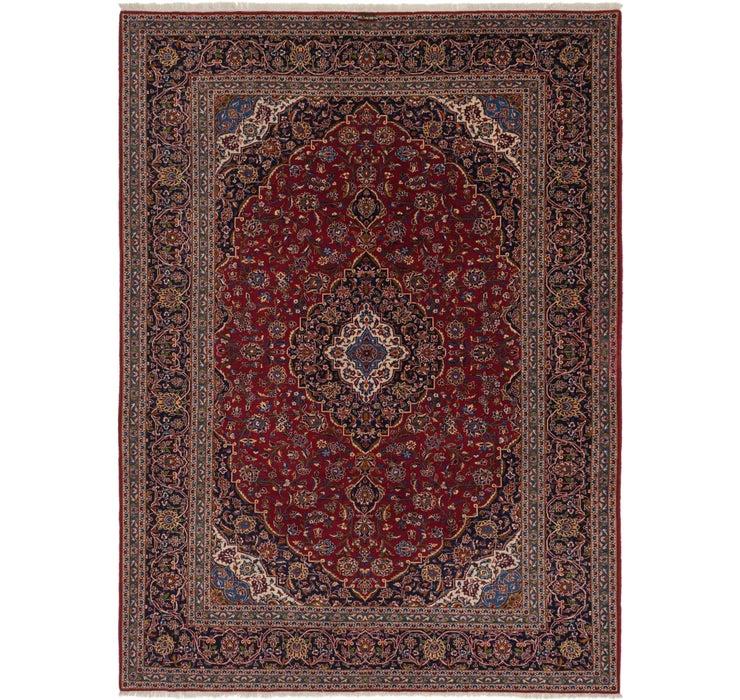 10' x 13' 6 Kashan Persian Rug
