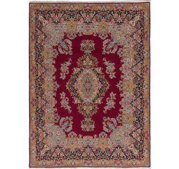 Image of 10' x 13' 8 Kerman Persian Rug