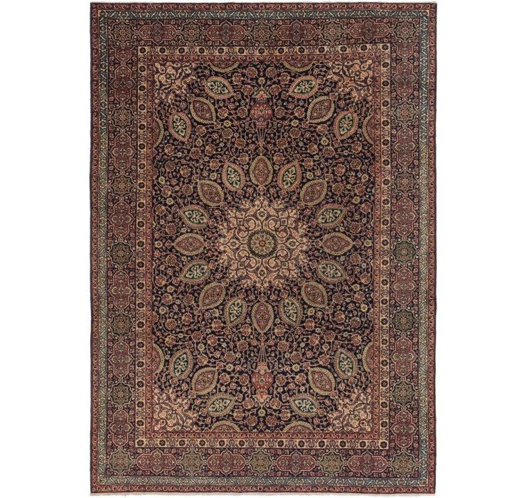 9' 2 x 12' 5 Tabriz Persian Rug