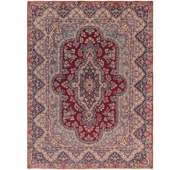 8' x 11' Kerman Persian Rug main image