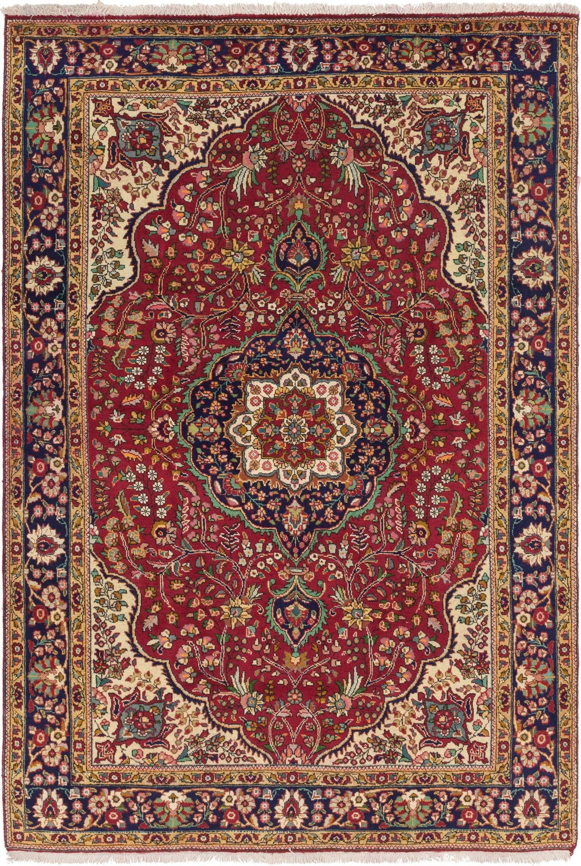 6' 8 x 10' Tabriz Persian Rug main image