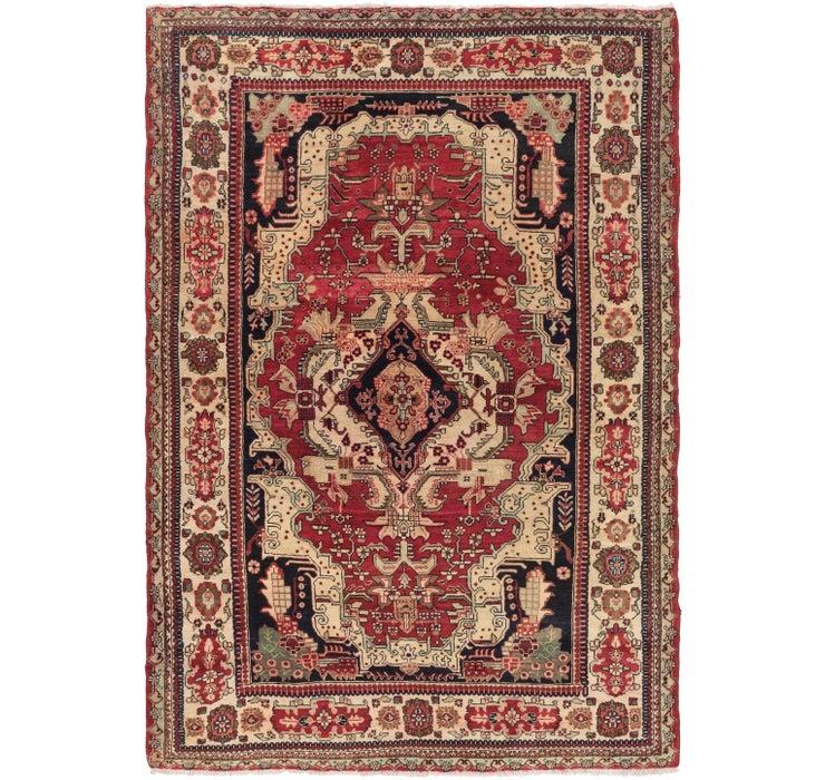 198cm x 292cm Meshkin Persian Rug