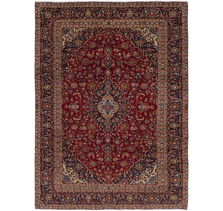 282cm x 390cm Kashan Persian Rug