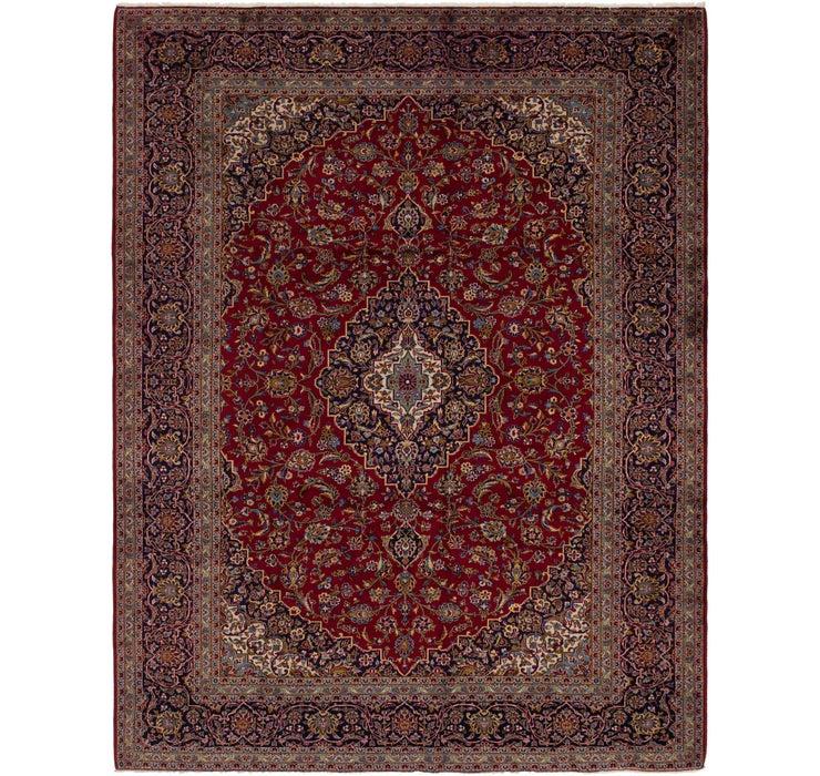300cm x 390cm Kashan Persian Rug