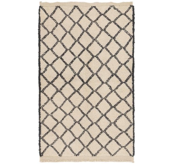 3' 9 x 6' 2 Moroccan Rug