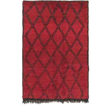 Image of 3' 10 x 5' 9 Moroccan Rug