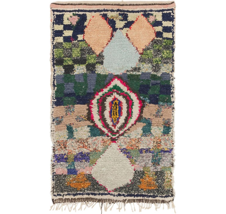 135cm x 213cm Moroccan Rug