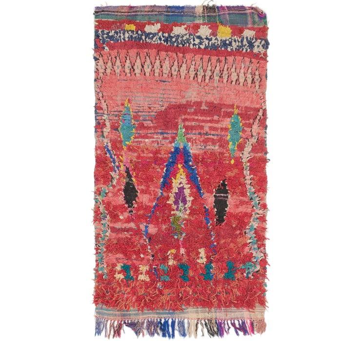 3' 10 x 7' Moroccan Rug