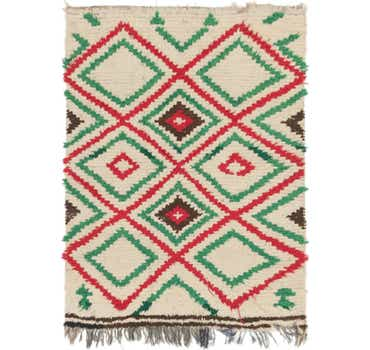 Image of 4' 4 x 5' 9 Moroccan Rug
