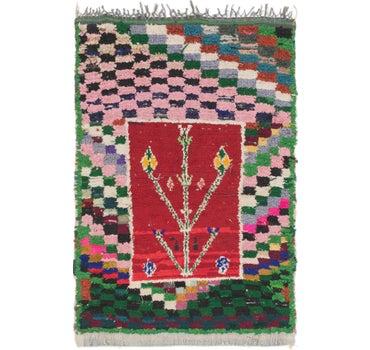 3' 7 x 5' 4 Moroccan Rug main image