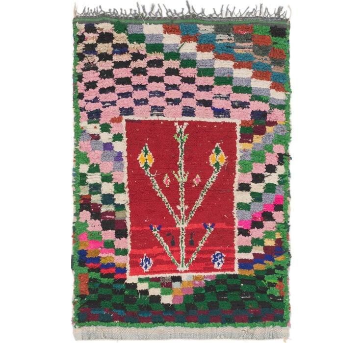110cm x 163cm Moroccan Rug
