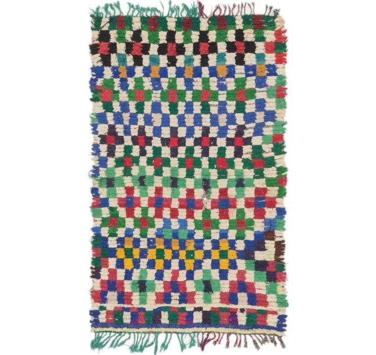 105cm x 175cm Moroccan Rug