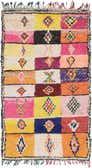 4' 9 x 8' 2 Moroccan Rug thumbnail