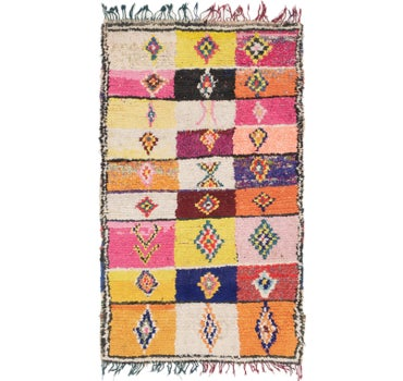 4' 9 x 8' 2 Moroccan Rug main image