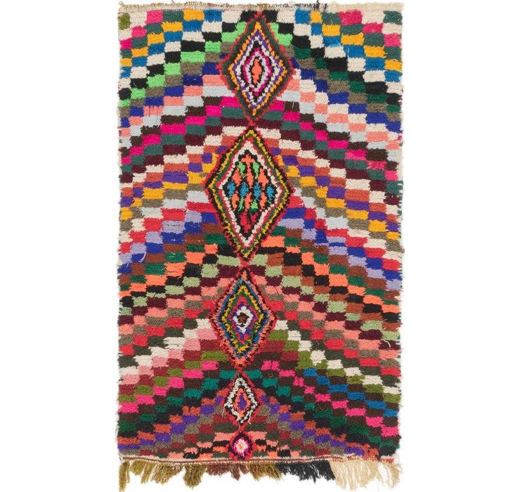 3' 7 x 6' Moroccan Rug
