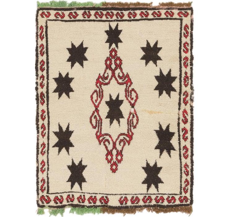 135cm x 175cm Moroccan Rug
