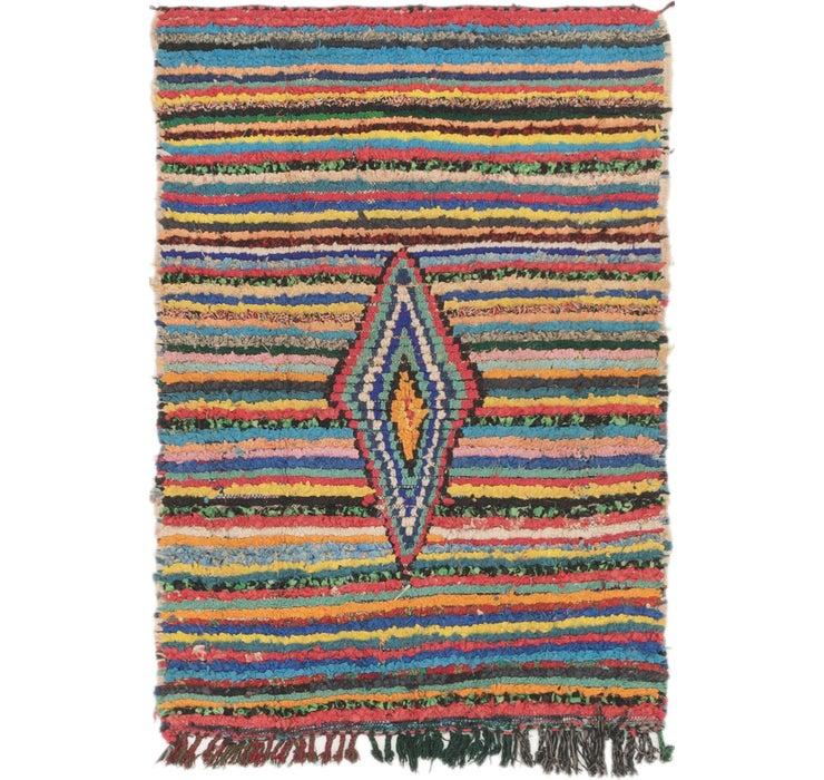102cm x 147cm Moroccan Rug