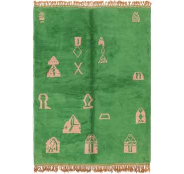 Image of 6' x 8' 2 Moroccan Rug