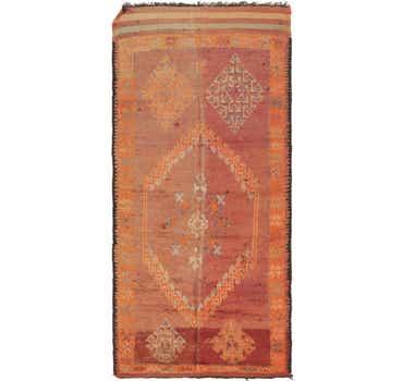 Image of  5' 4 x 12' Moroccan Runner Rug