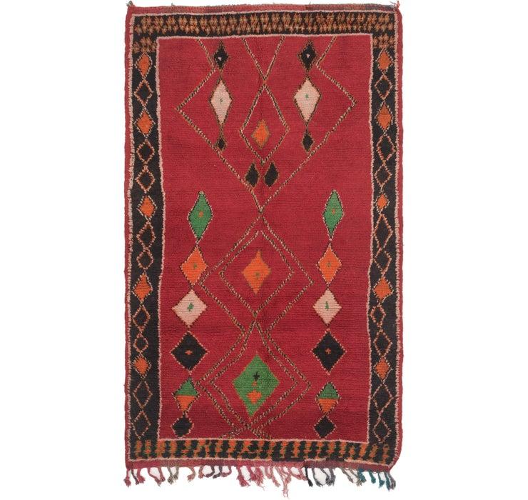 152cm x 275cm Moroccan Rug