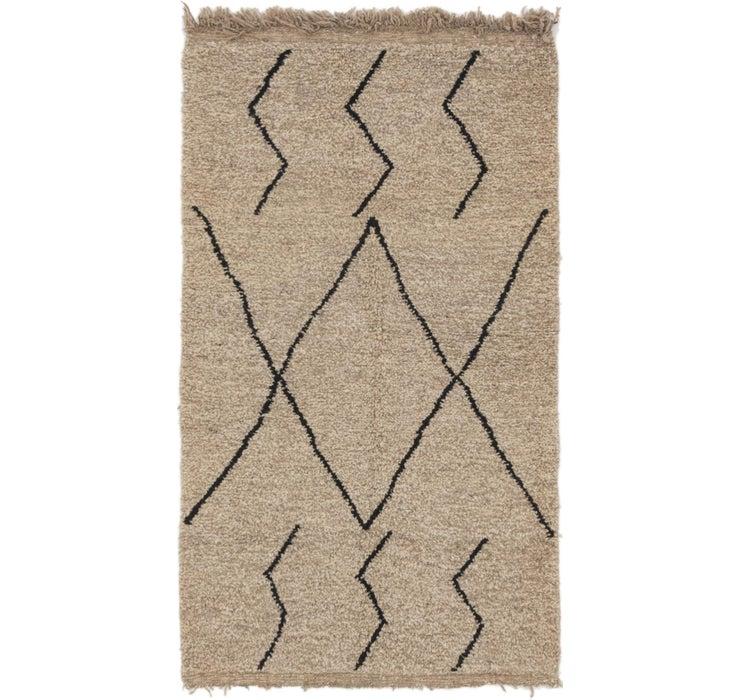 3' 8 x 6' 7 Moroccan Rug