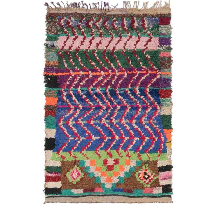 127cm x 195cm Moroccan Rug