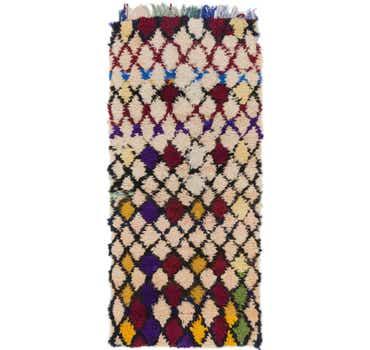 Image of  2' 10 x 6' 4 Moroccan Runner Rug