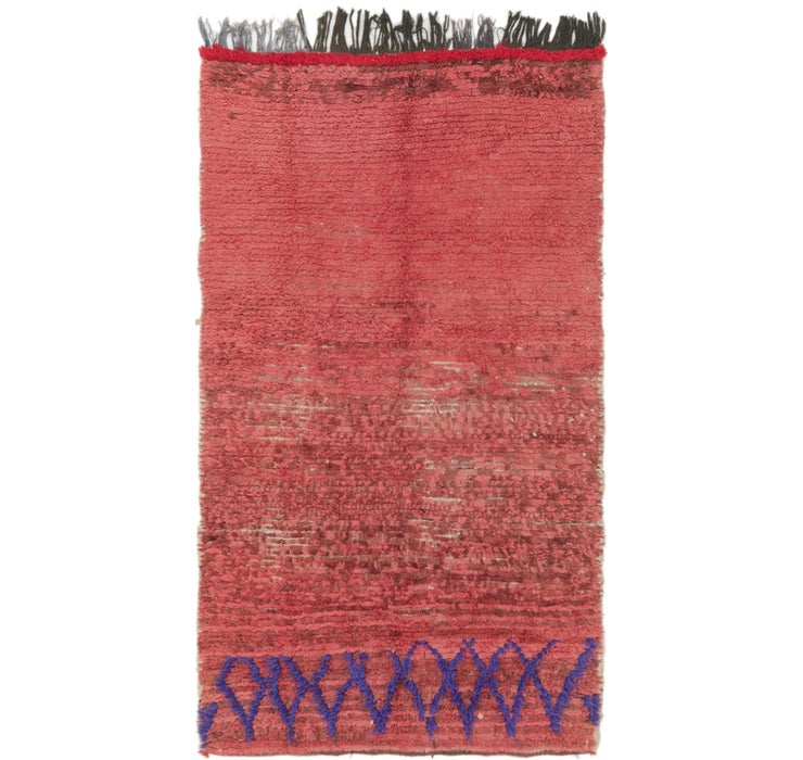 112cm x 200cm Moroccan Rug