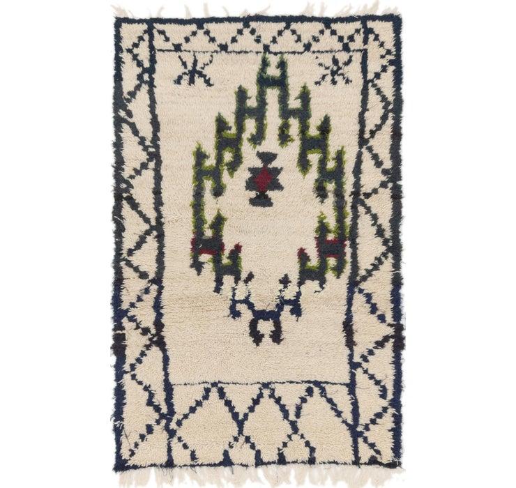 90cm x 147cm Moroccan Rug