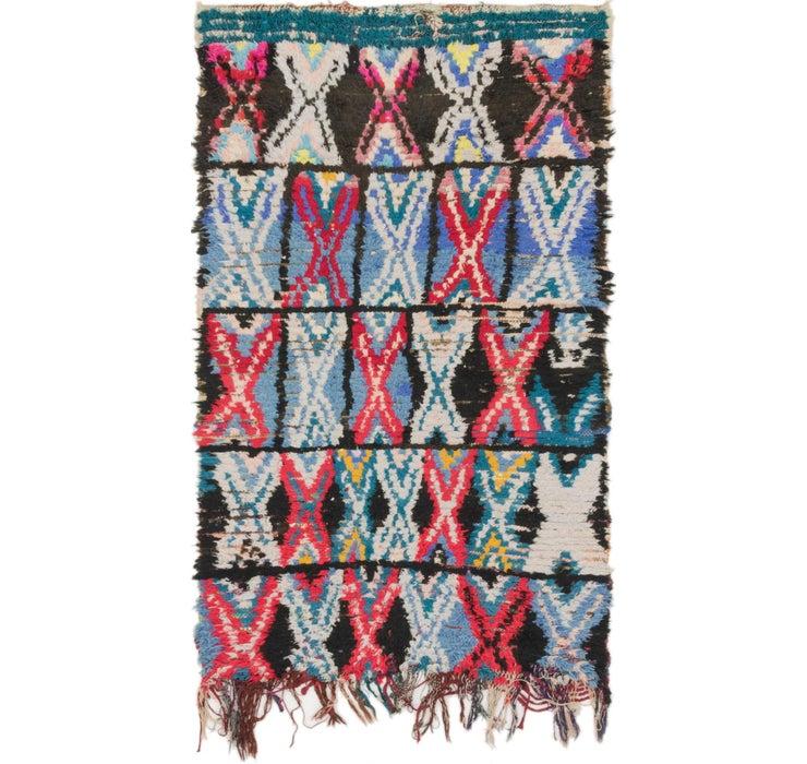 3' 3 x 5' 7 Moroccan Rug