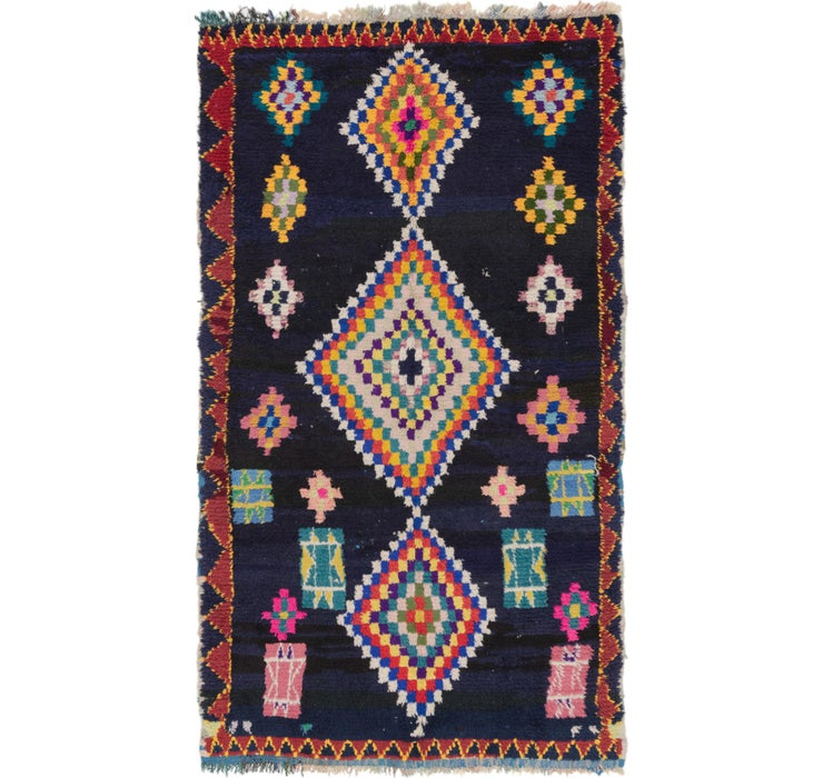152cm x 267cm Moroccan Rug