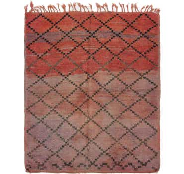 Image of 5' 10 x 6' 10 Moroccan Square Rug