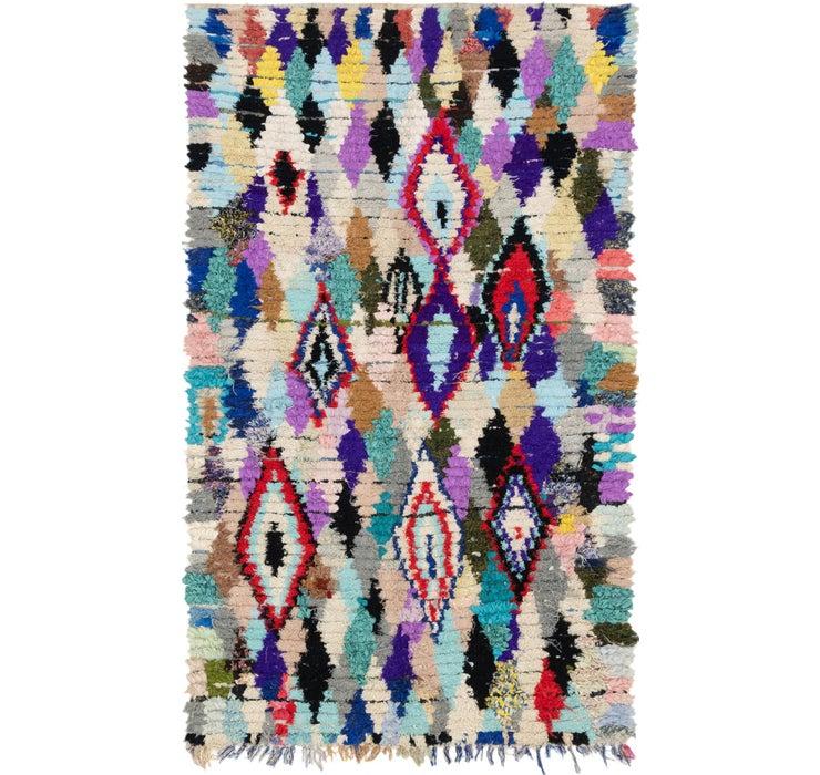 5' 3 x 9' 3 Moroccan Rug
